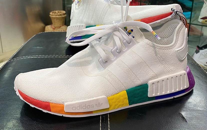 First Look At The adidas NMD R1 Pride • KicksOnFire.com