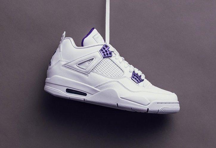 Buy The Air Jordan 4 Purple Metallic Right Here