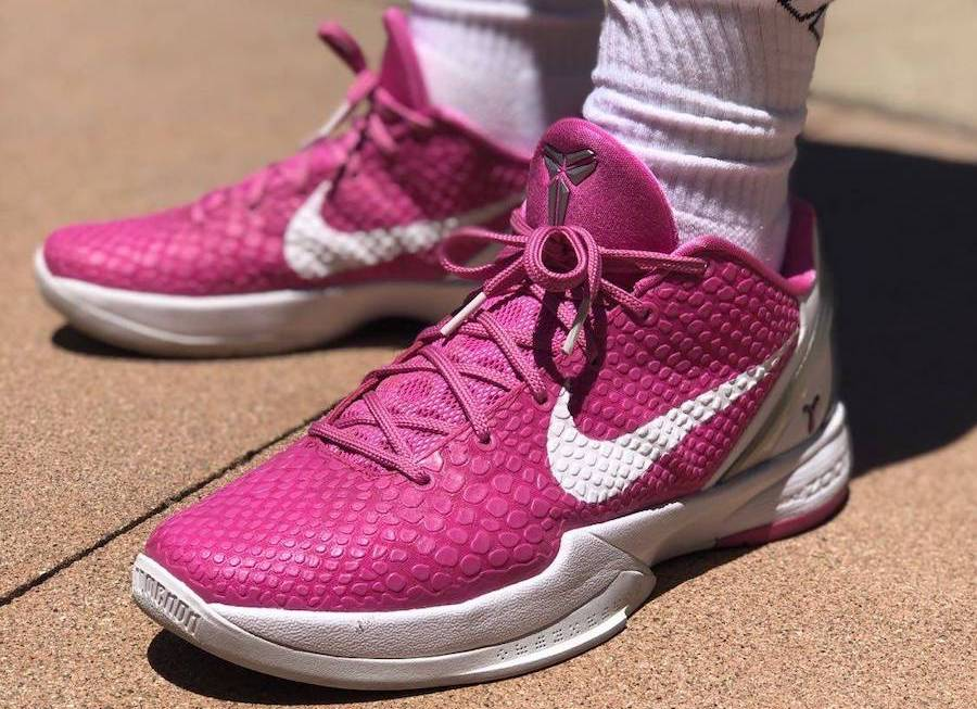 Nike Kobe 6 Protro Think Pink to Return