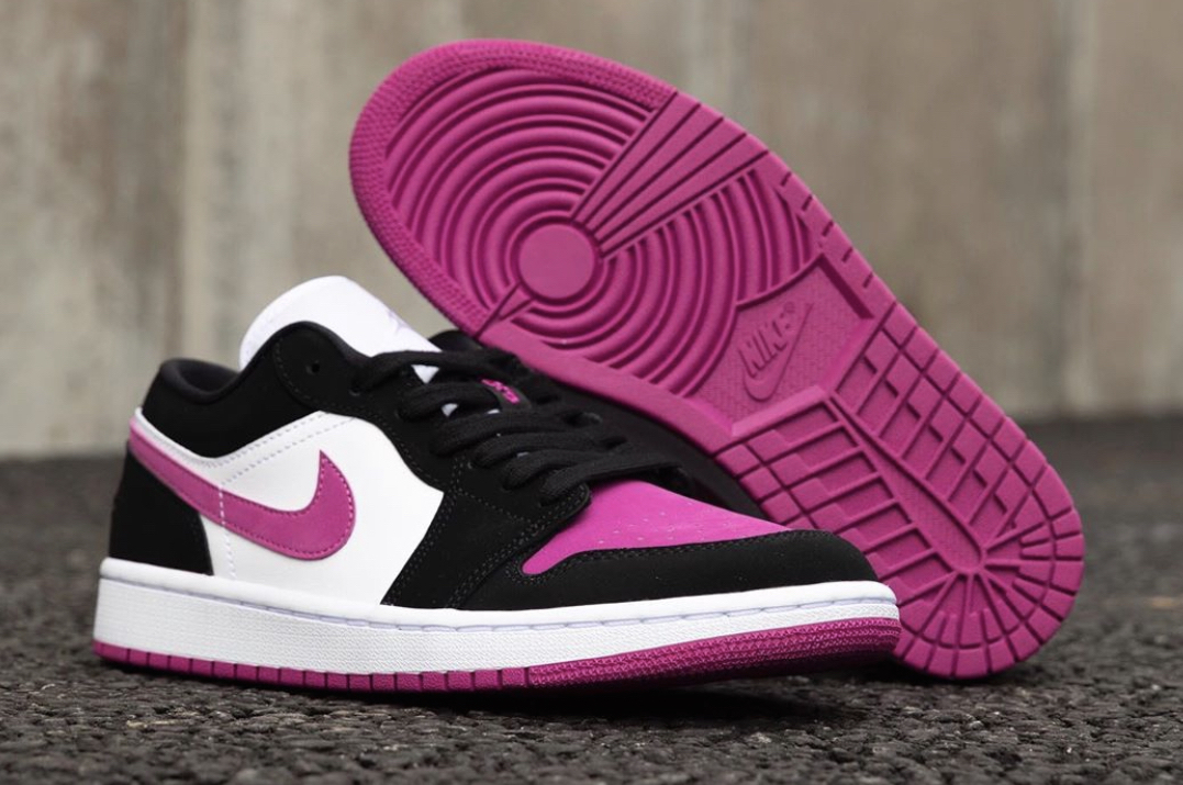 The Air Jordan 1 Low Black Pink Debuts