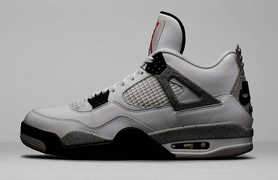 Air Jordan 4 Alternate White Cement