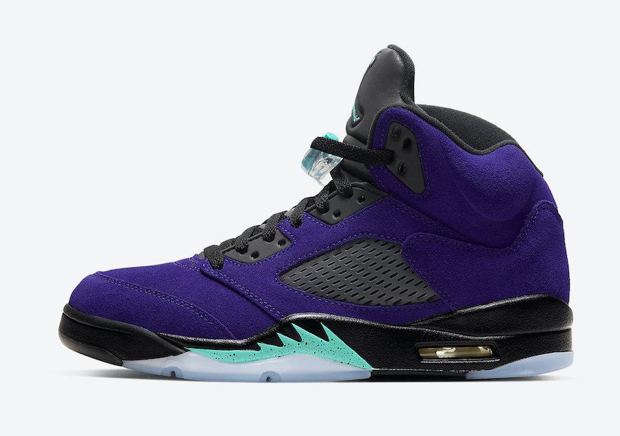 Air Jordan 5 Alternate Grape (Grape Ice
