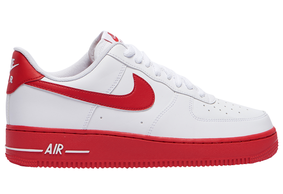 The Nike Air Force 1 Low University Red