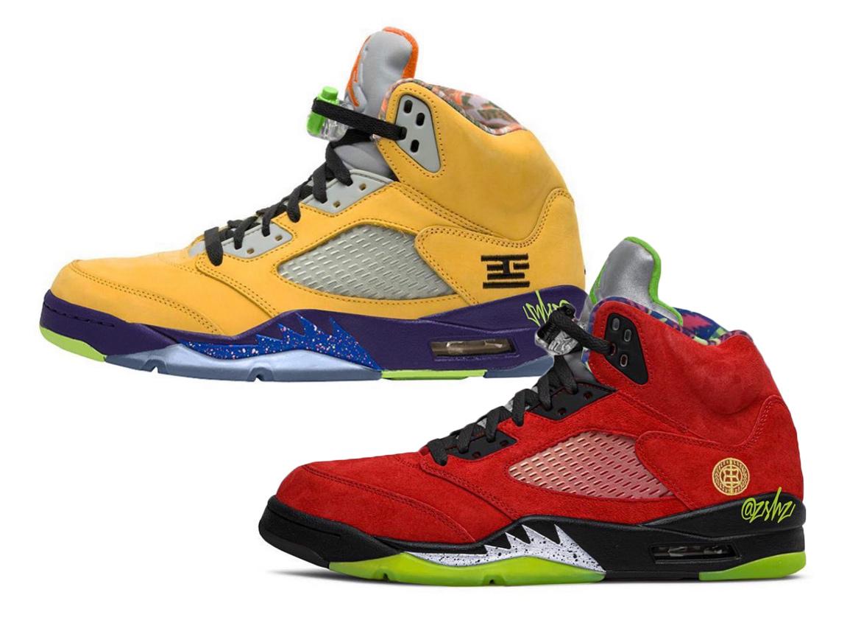 Air Jordan 5 What The • KicksOnFire