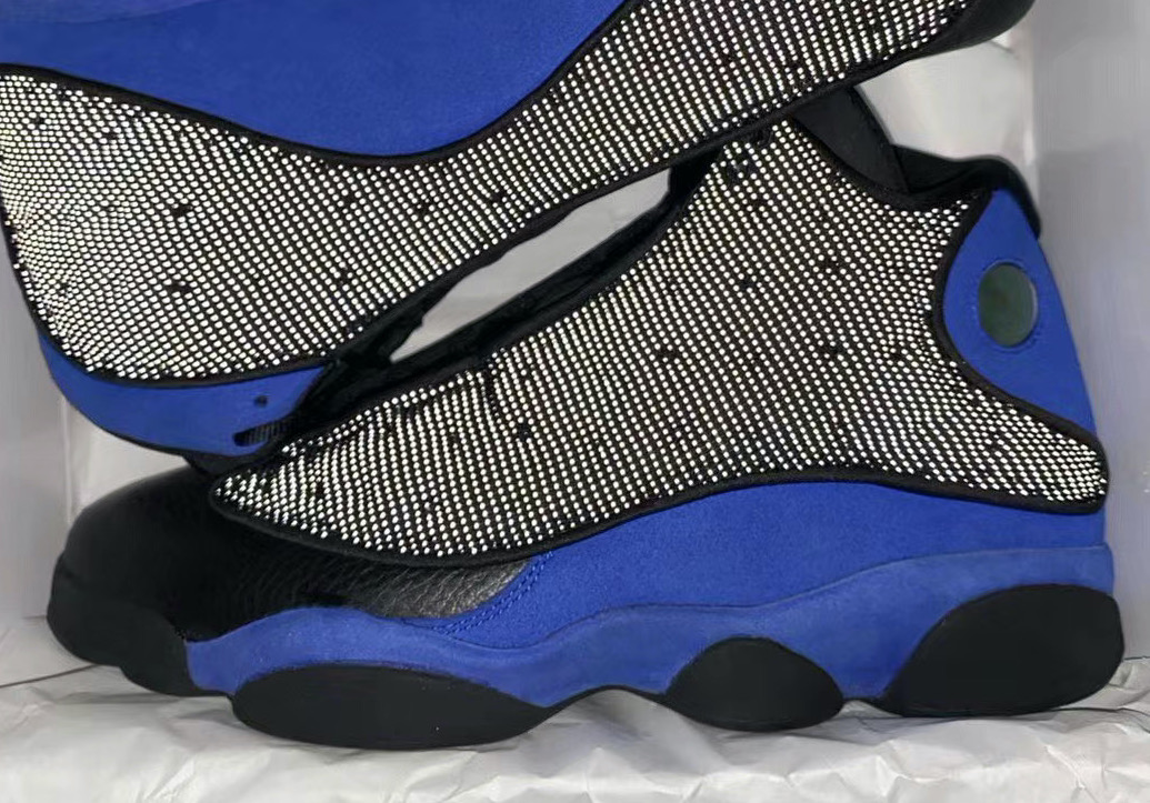 The Air Jordan 13 Black Hyper Royal Will Come With 3m Reflective Uppers Kicksonfire Com