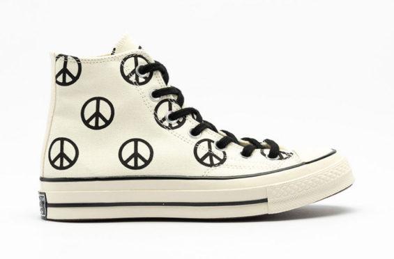 Peace Signs Cover This Converse Chuck Taylor