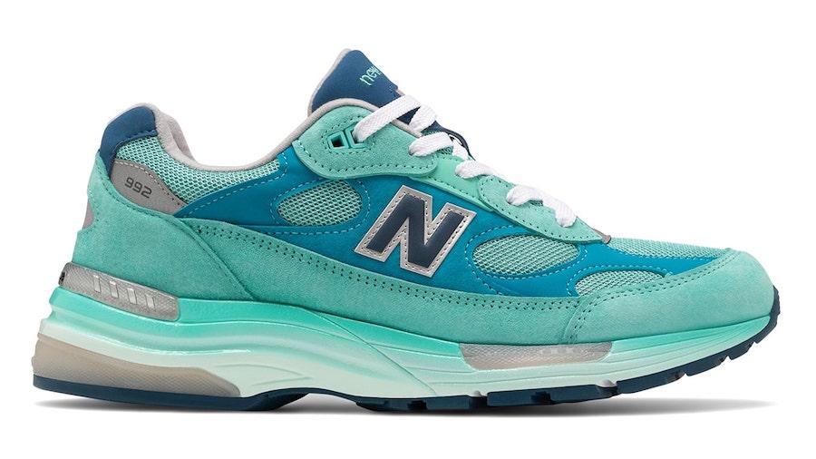 new balance turquoise