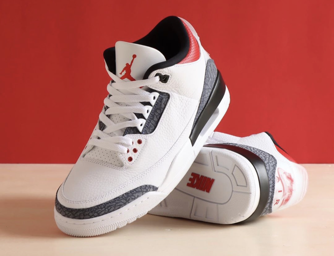 Is the Air Jordan 3 SE-T CO.JP Fire Red Denim Better Than the US ...