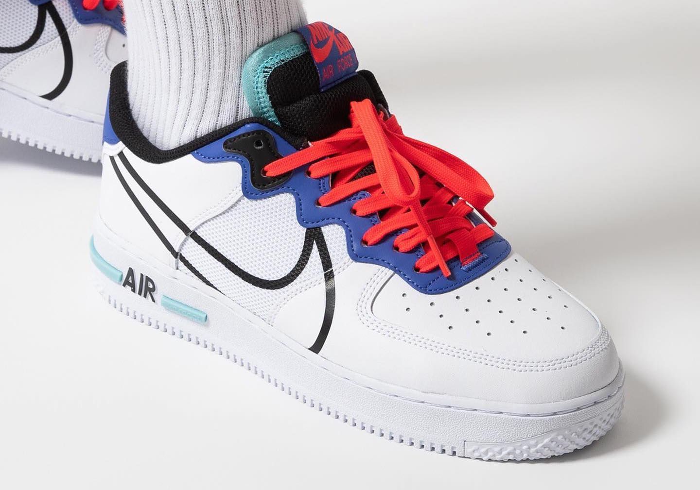 Look for the Nike Air Force 1 React Astronomy Blue Now ...