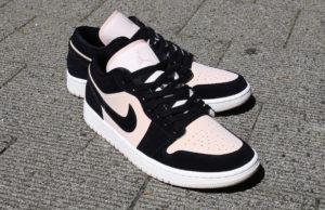 Air Jordan 1 Low WMNS Black Light Pink
