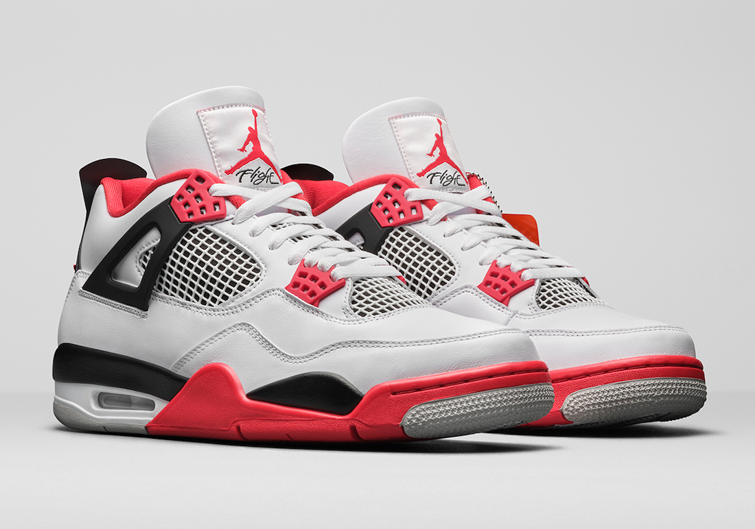 The Air Jordan 4 OG Fire Red 2020 Is Officially Unveiled ...