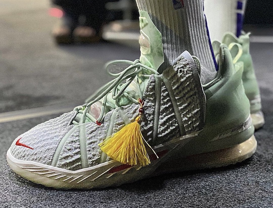 Nike LeBron 18 Scheduled To Release