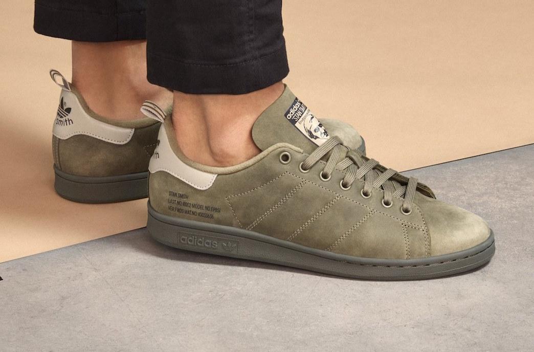 adidas stan smith kaki