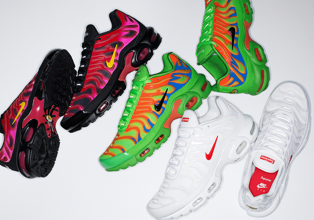 Supreme x Nike Air Max Plus TN Collection Officially ...