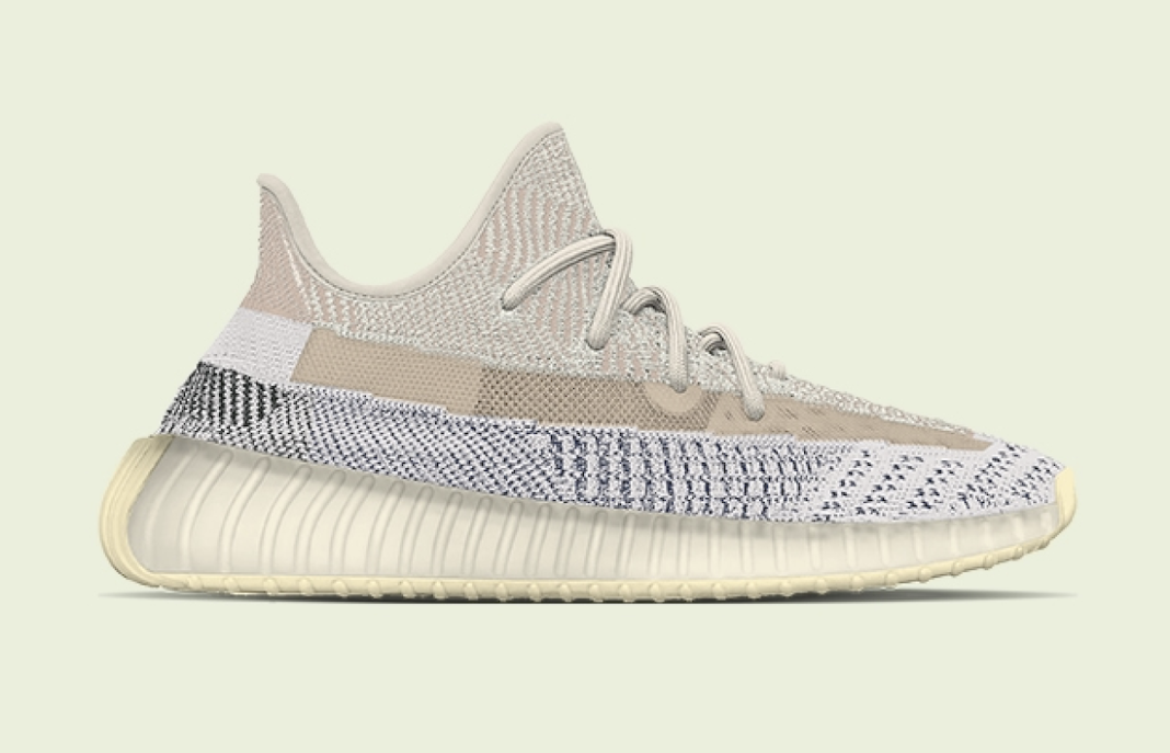 The adidas Yeezy Boost 350 V2 Ash Pearl