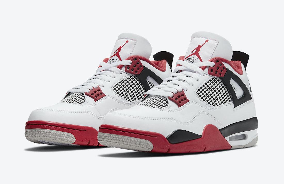 desastre Segundo grado impresión  Air Jordan 4 OG Fire Red 2020 • KicksOnFire.com