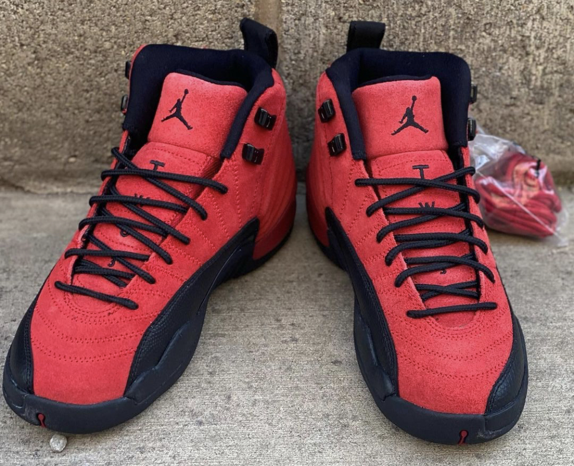 Air Jordan 12 Reverse Flu Game Also Dropping in GS Sizing ...