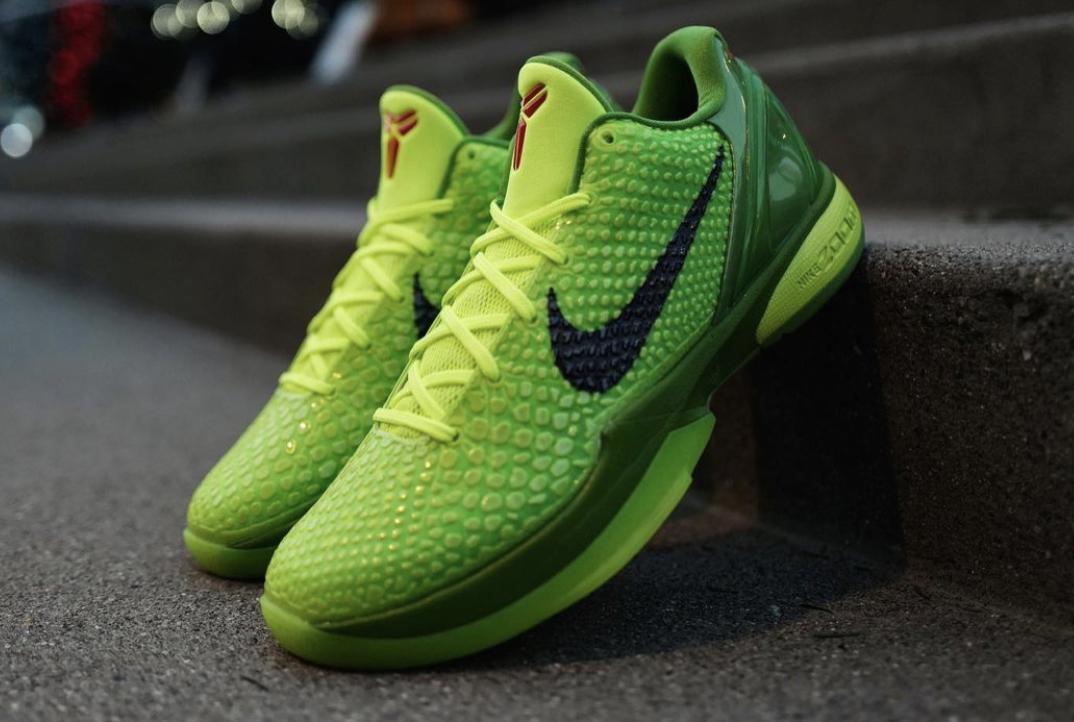 Buy the Nike Kobe 6 Protro Grinch Right Here • KicksOnFire.com