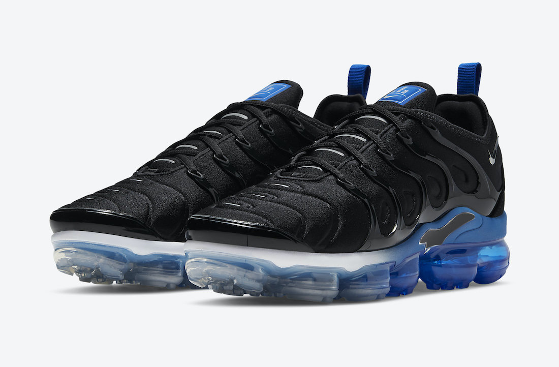 Nike Air VaporMax Plus To Release In Black and Royal • KicksOnFire.com