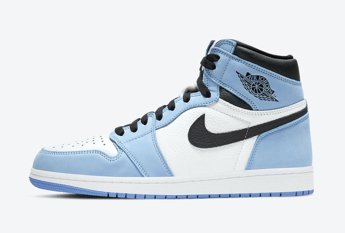 Air Jordan 1 High OG University Blue • KicksOnFire.com