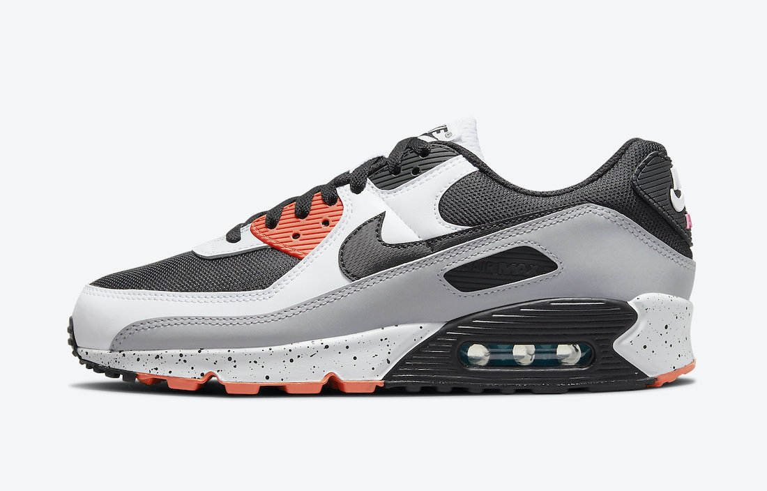Turf Orange and Speckled Midsoles Shine on This Nike Air Max 90 ...