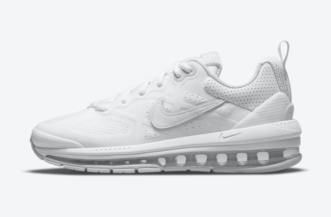 Official Images: Nike Air Max Genome Triple White • KicksOnFire.com