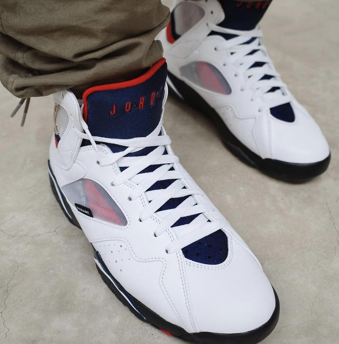 Air Jordan 7 PSG • KicksOnFire.com