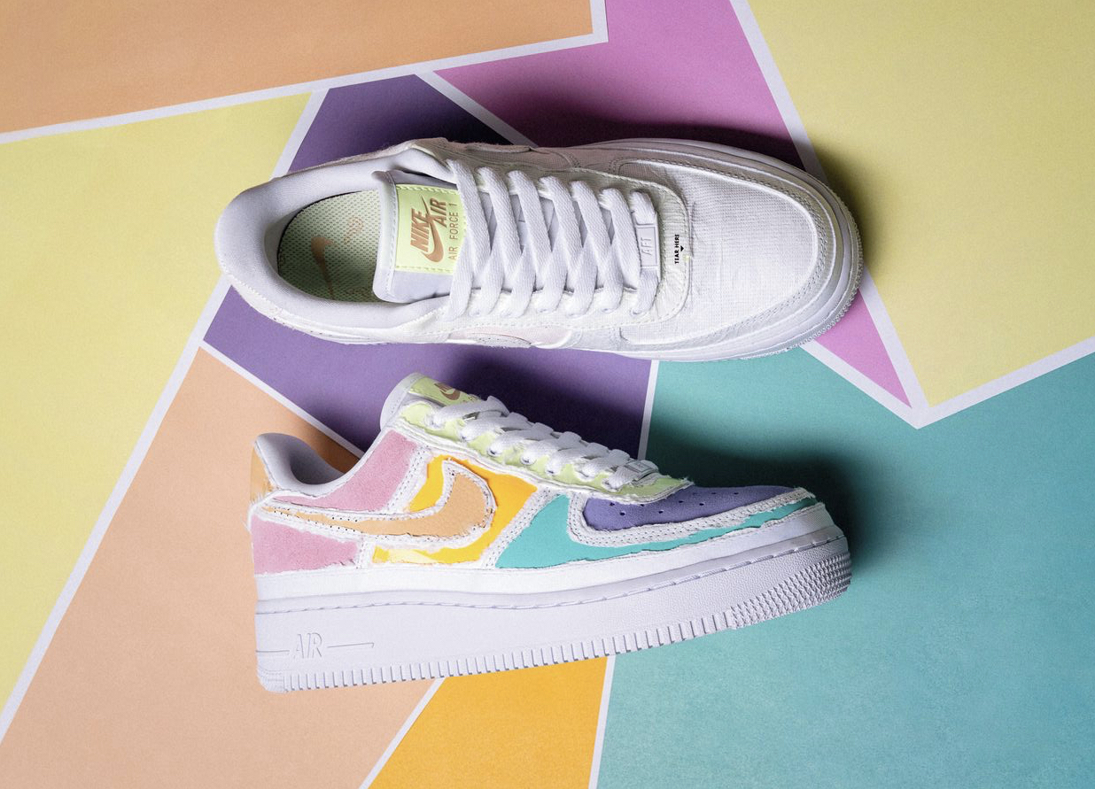 Where to Cop the Nike WMNS Air Force 1 Pastel Reveal