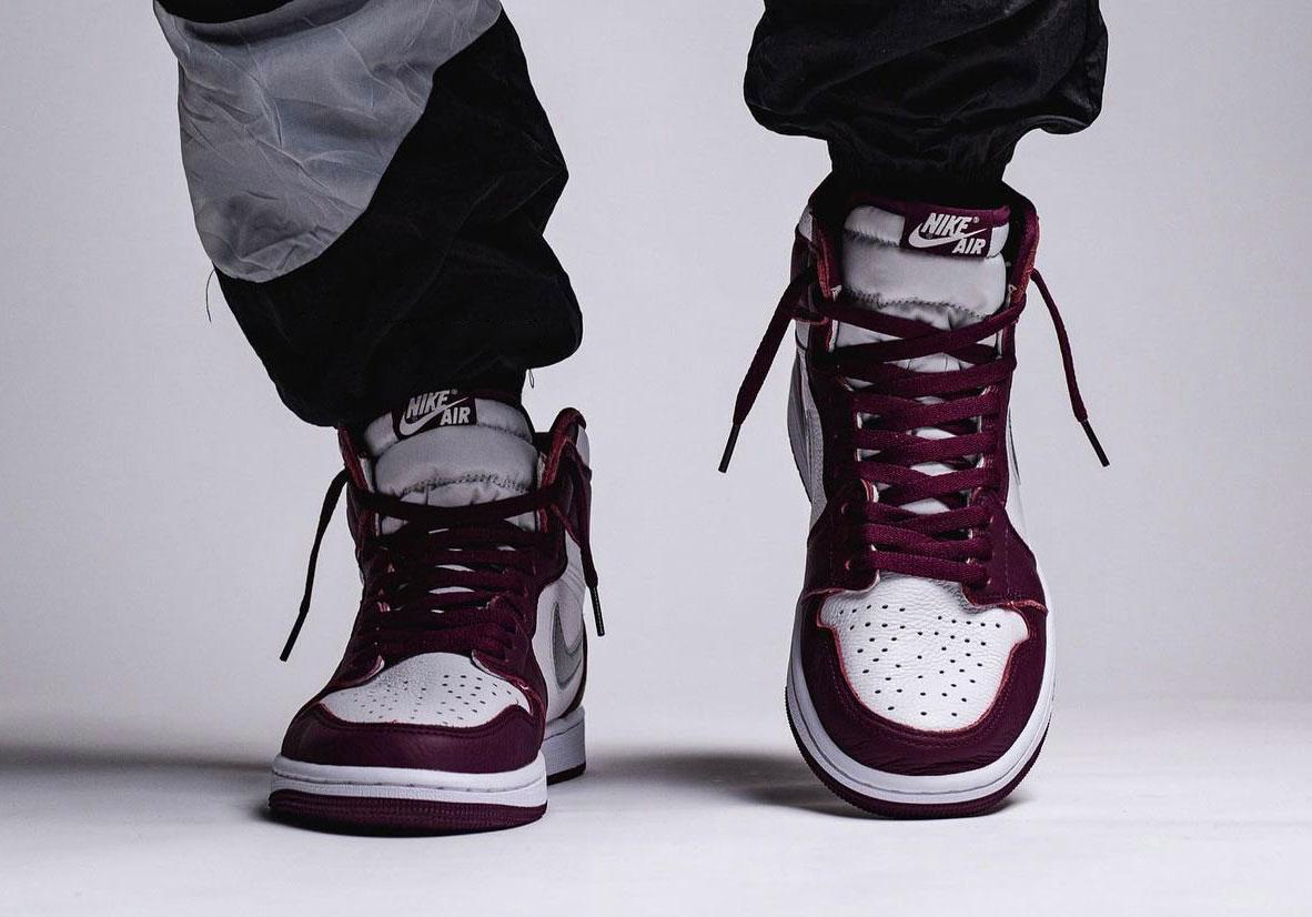 Air Jordan 1 High OG Bordeaux • KicksOnFire.com