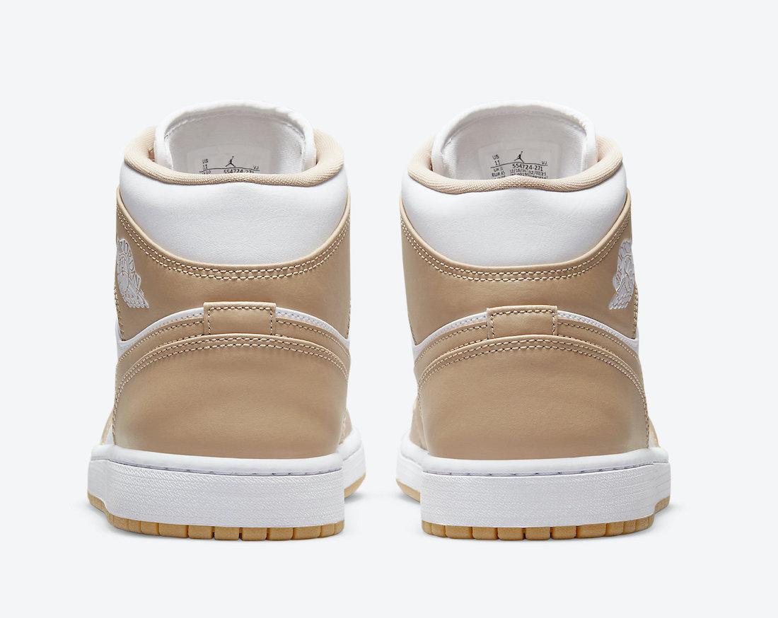 Air Jordan 1 Mid Tan Gum 554724-271