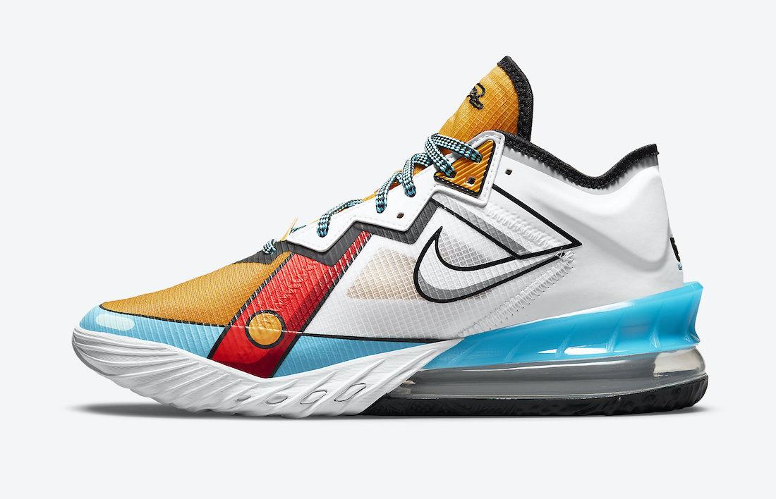 Date de sortie : Nike Lebron 18 Low Stewie Griffin (cartoon Art)