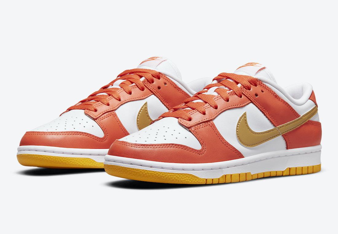 Official Images: Nike Dunk Low Golden Orange
