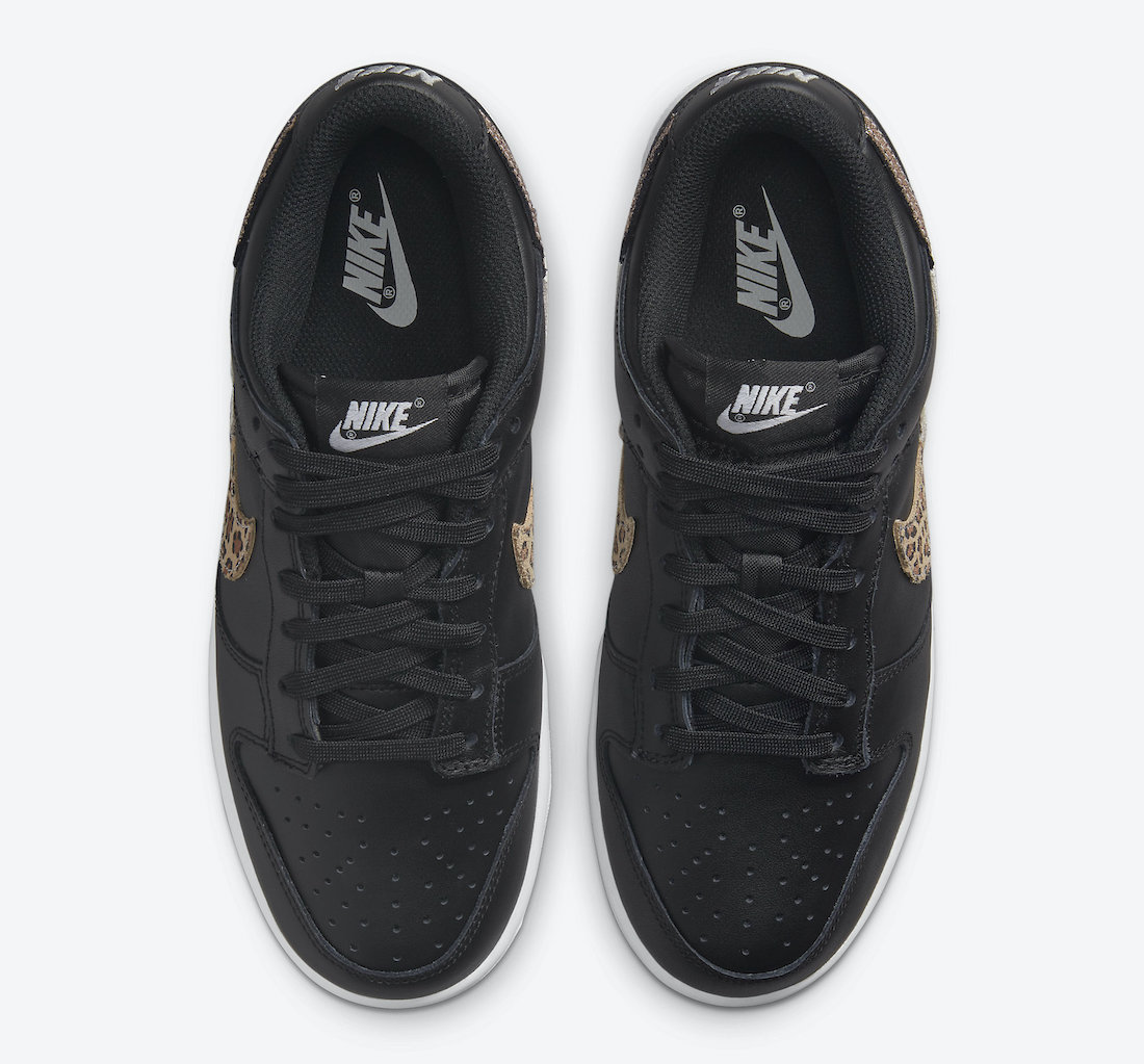 Official Images: Nike Dunk Low WMNS Animal Print Black