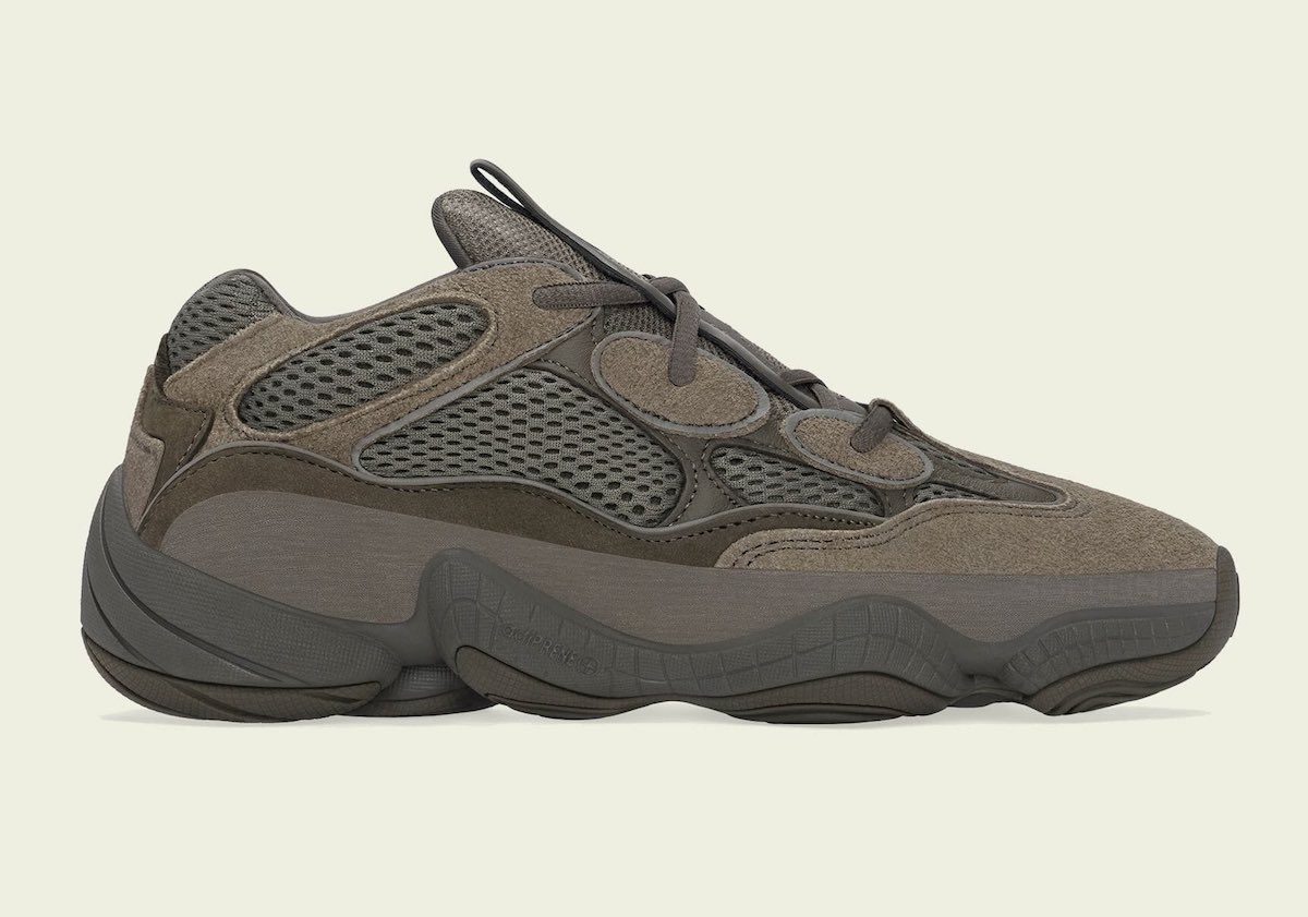 Official Images + Release Date: adidas Yeezy 500 Brown Clay